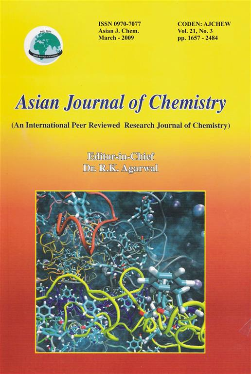 asian chemistry journal